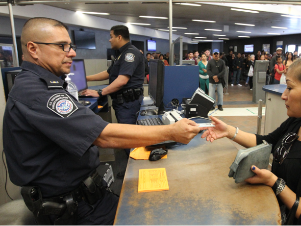Customs and border control